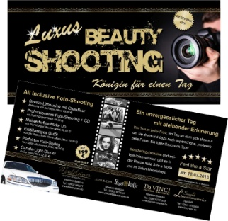 Luxus Beauty Fotoshooting